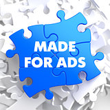 Made For ADS on Blue Puzzle.