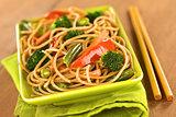 Vegetable Pasta Stir Fry