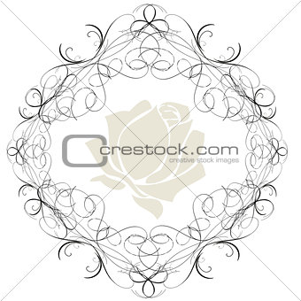 Antique Frame ornaments Vectors 2