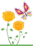 butterflies and flowers 7