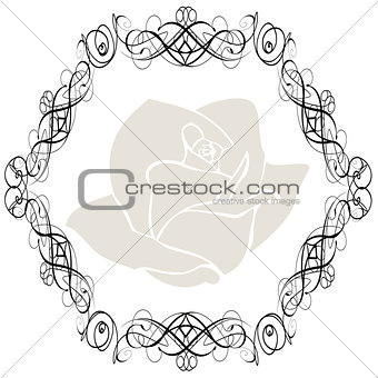 Antique Frame ornaments Vectors 3