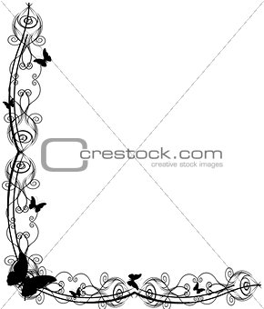 Antique Frame ornaments Vectors 8