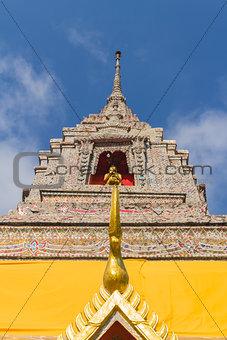 pagoda under the sun light
