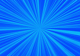 Blue background star effect