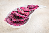 dried dragon fruit (pitaya)