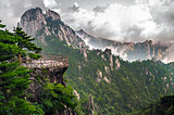 Yellow Mountain Huangshan Terrace