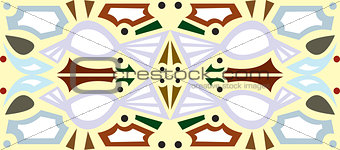 Abstract Purple Bird Seamless Tile