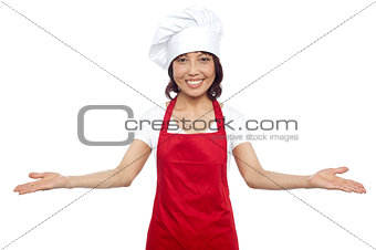 Great welcome by experienced asian female chef