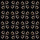 Design seamless flower decorative pattern