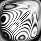 Design monochrome vortex movement background
