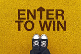 Enter To Win on Asphalt Road