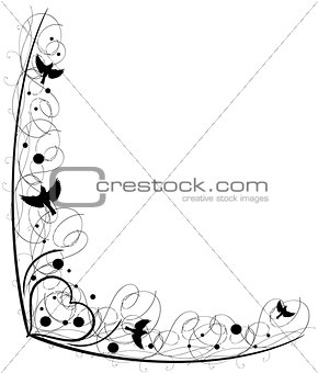 Antique Frame ornaments Vectors 7