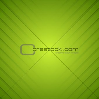 Abstract green striped vector background