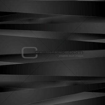 Black stripes vector background