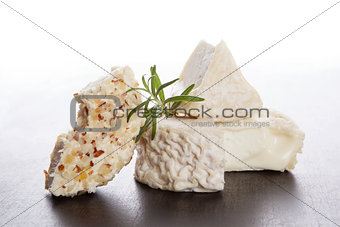 Culinary cheese eating.