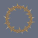 Crown of Thorns of Christ Illustration