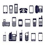 Icons phones