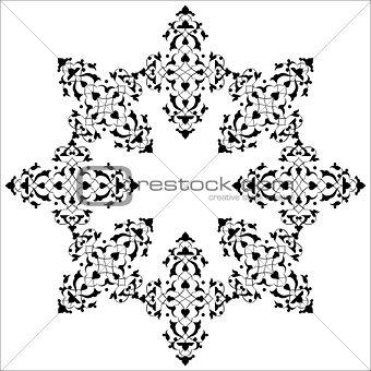 artistic ottoman pattern series seventy five