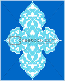 artistic ottoman pattern series seventy four