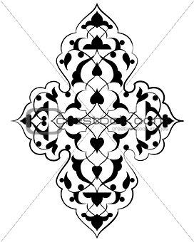 artistic ottoman pattern series seventy three