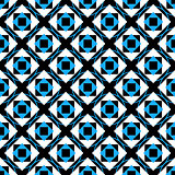 Geometry cute seamless pattern