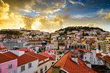 Lisbon, Porgual Dawn Skyline