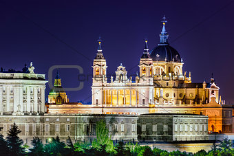 Almudena Cathedral of Madrid, Spain