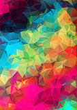 Abstract 2D geometric background
