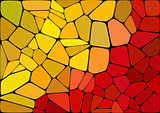 Colorful 2D mosaic abstract background - Illustration for web