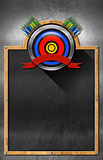 Blackboard for Archery
