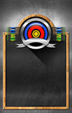 Blackboard for Archery