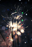 Heart Bokeh and Sparkler