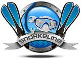 Snorkeling - Metal Icon