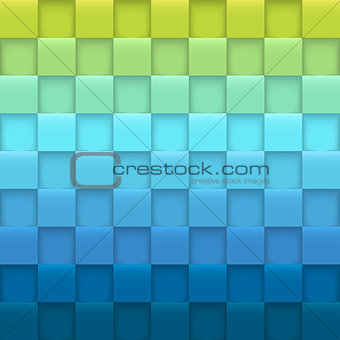 Abstract background with squares.