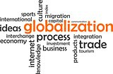 word cloud - globalization