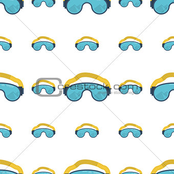 Climbing goggles vector background