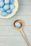Beautiful Blue Easter Eggs