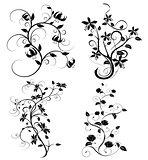 set of flourishes