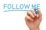 Follow Me Blue Marker