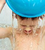 Boy washing