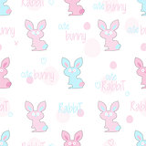 Easter rabbit pattern