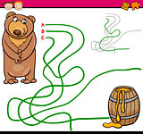 path or maze cartoon game