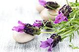 Lavender bouquet.