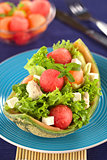 Melon and Chicken Salad