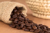Coffee Beans in Jute Bag