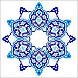 artistic ottoman pattern series seventy eight