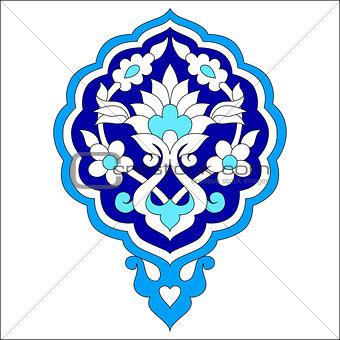 artistic ottoman pattern series seventy seven