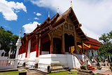 Old wooden church of Wat Lok Molee Chiang mai