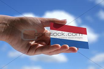 Small Dutch flag