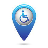 Disabled icon on map pointer